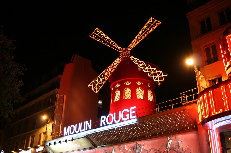 Free photo: Moulin Rou... Dance Stage Backgrounds