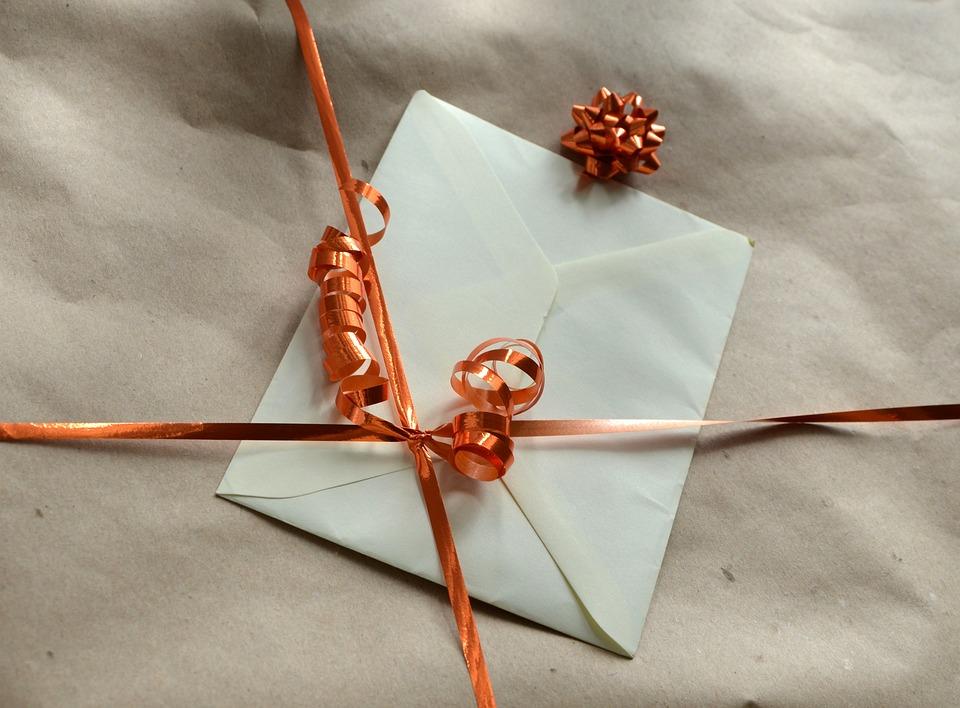 Подарок, Упаковочная Бумага, Конверт, Упаковка