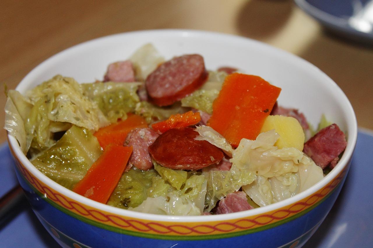 Рецепт рагу с капустой в мультиварке рецепты с пошагово