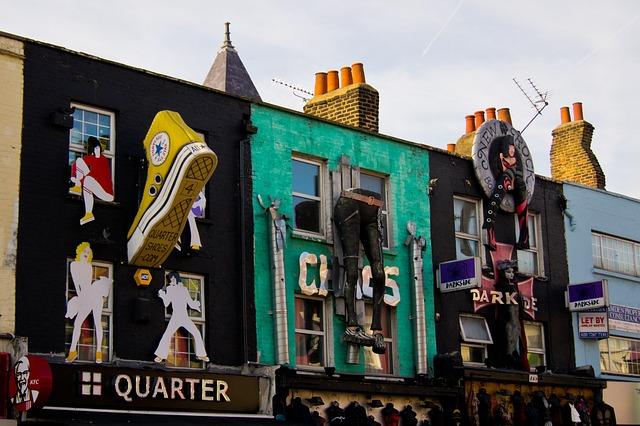 Free photo: Camden, London, District, Market