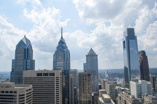 Philadelphia, Towers, City Skyline