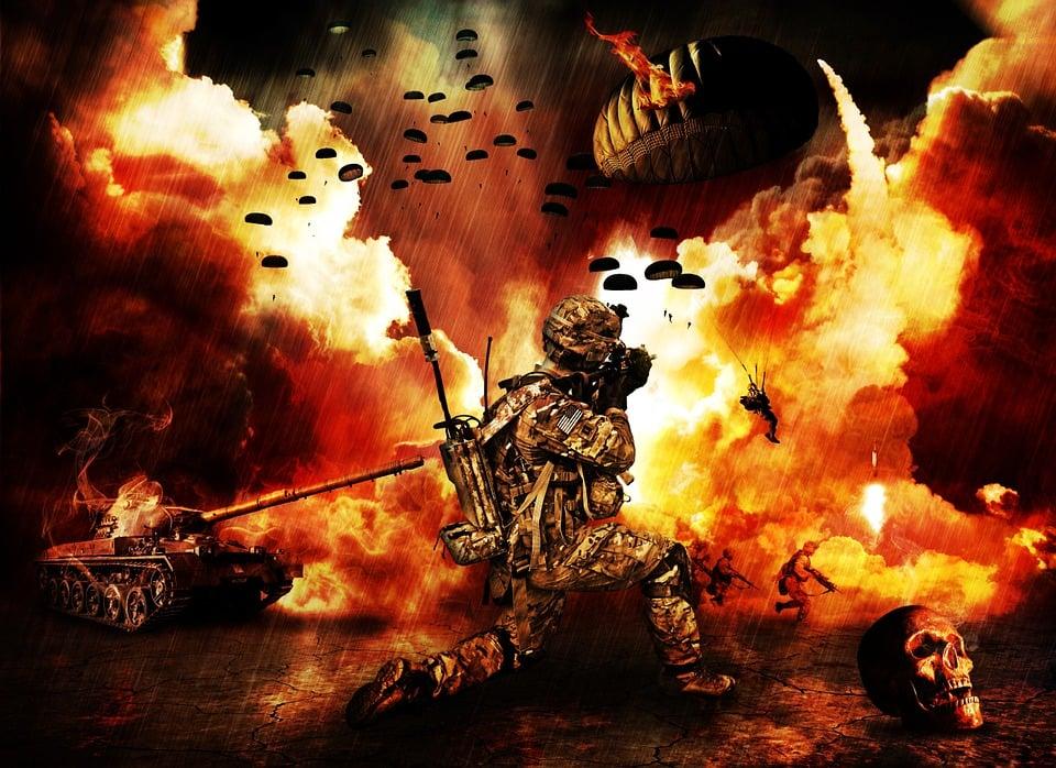Luogo Di Guerra, Guerra, Apocalisse, Fine Del Mondo