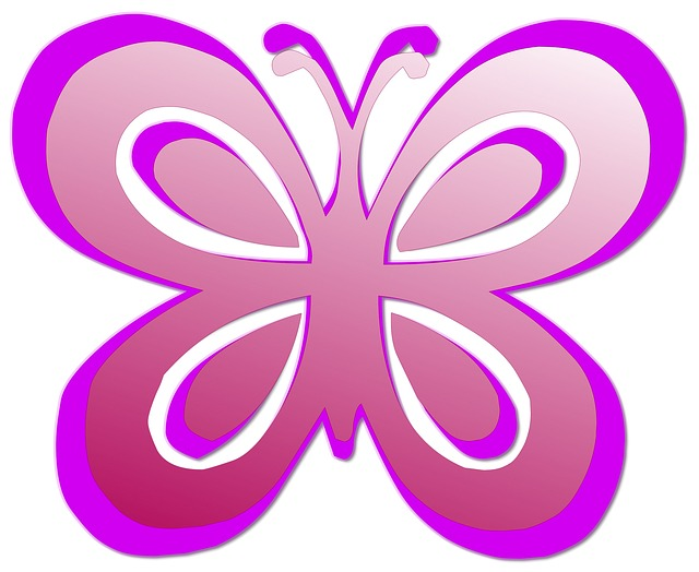 Butterfly Pink Cute Free Image On Pixabay