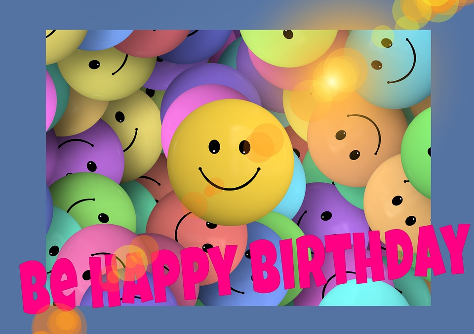 Birthday Smilie Faces Free Image On Pixabay