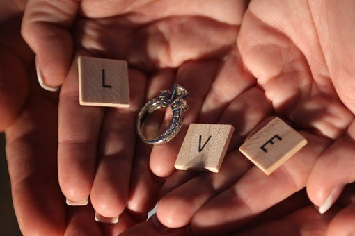 Love Ring Romance Wedding Couple Marriage