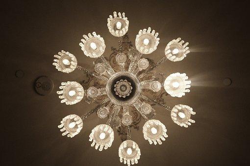 Chandelier, Lustre, Lights, Design