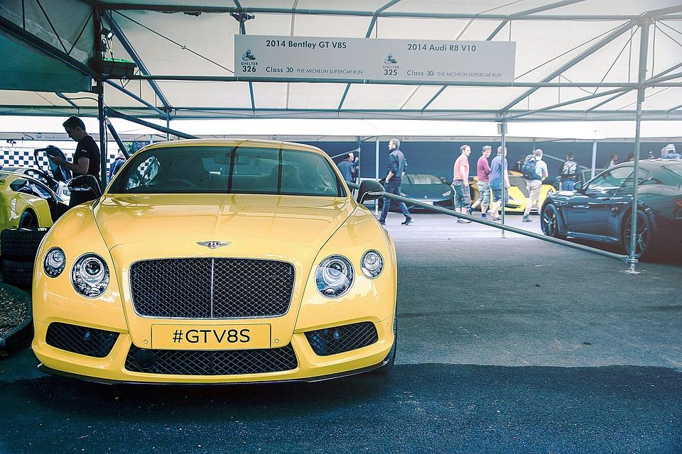 Bentley Racing Car Sports Car Car Luxury
