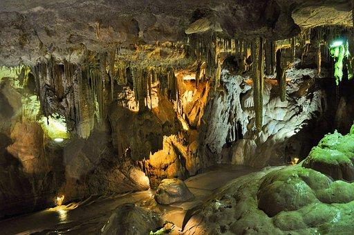 Cave, Cavern, Stalactites, Stalagmites