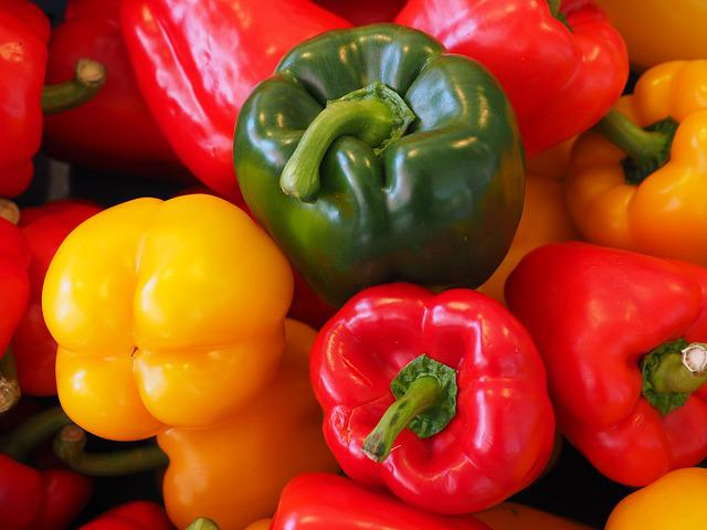 Free Photo Sweet Peppers Paprika Green Free Image On