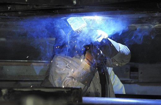 Weld Hot Soldering Workers Welder Industry