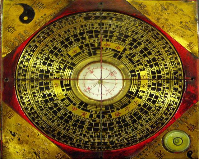 Free photo compass chinese north free image on - Brujula feng shui ...