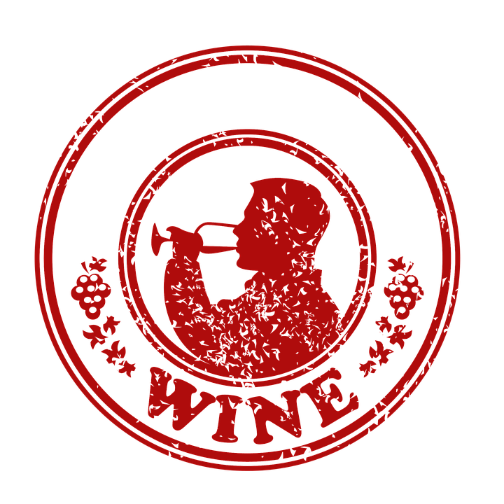 Free Illustration Wine Stamp Seal Old Retro Free