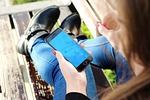 iphone, szablon, makieta