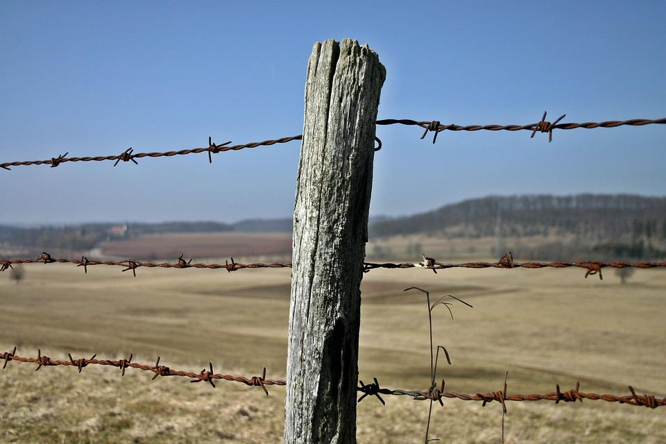 Fence Barbed Wire Post · Free photo on Pixabay