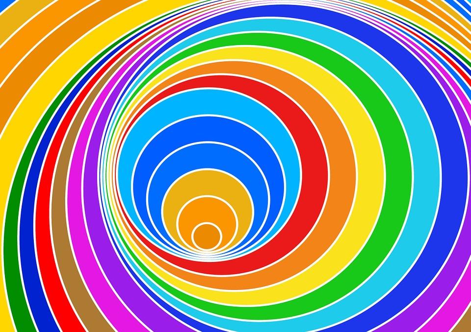 Backgrounds Hd Tie Dye Colorful Vortex Swirls Wallpaper: Free Illustration: Spiral, Eddy, Color Vortex, Strudel