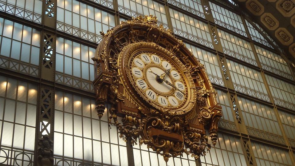 Uhrzeit Paris