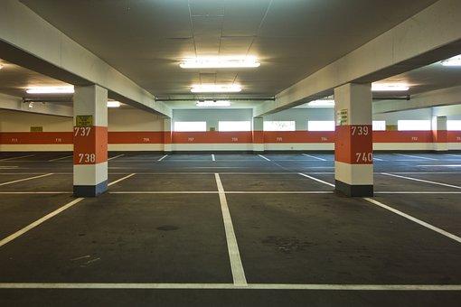Multi Storey Car Park, Park, Flat