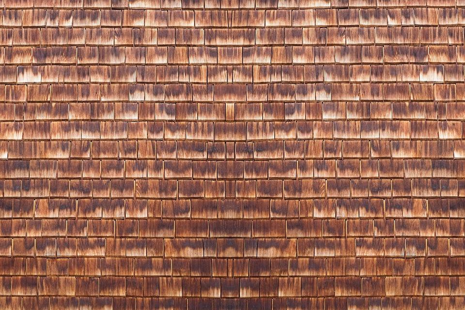 Kostenloses Foto Holzwand Schieferwand Schindeln