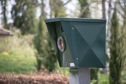 Blitzer Geschwindigkeitskontrolle Radar Ge