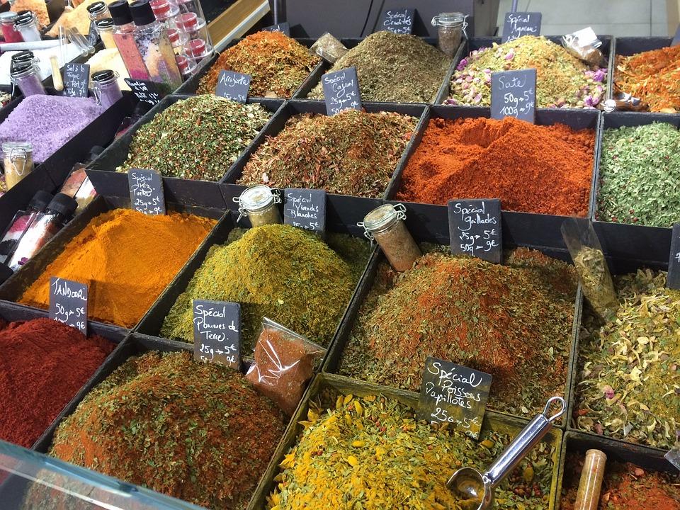 Épices, Herbes, Gal, Ingrédient, Chili, Marché, Saveur