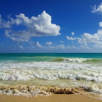 Beach, Hawaii, Ocean, Sea, Nature