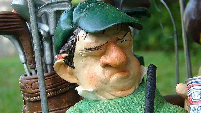 Gratis billede: Golf, Golfspiller, Figur, Vred - Gratis ...