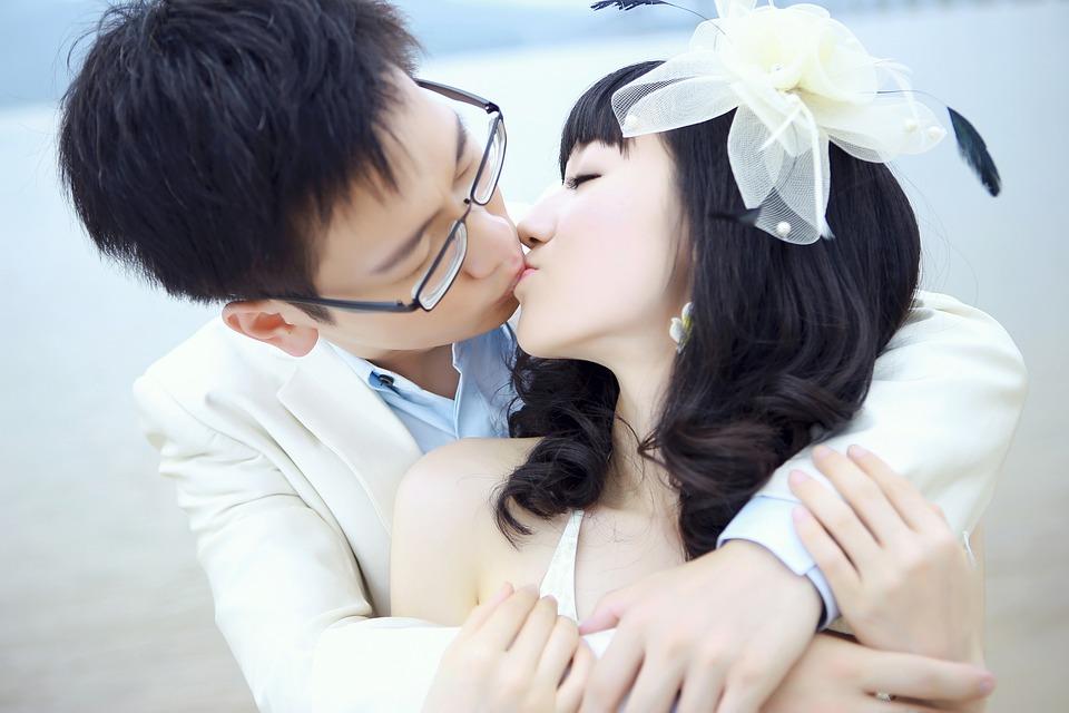Φιλί, Δεξιά, Αγάπη, Για Ερωτευμένους, Ασία, Κίνα