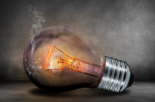 Light Bulb, Current, Light, Glow, Glow Lamp, Shining