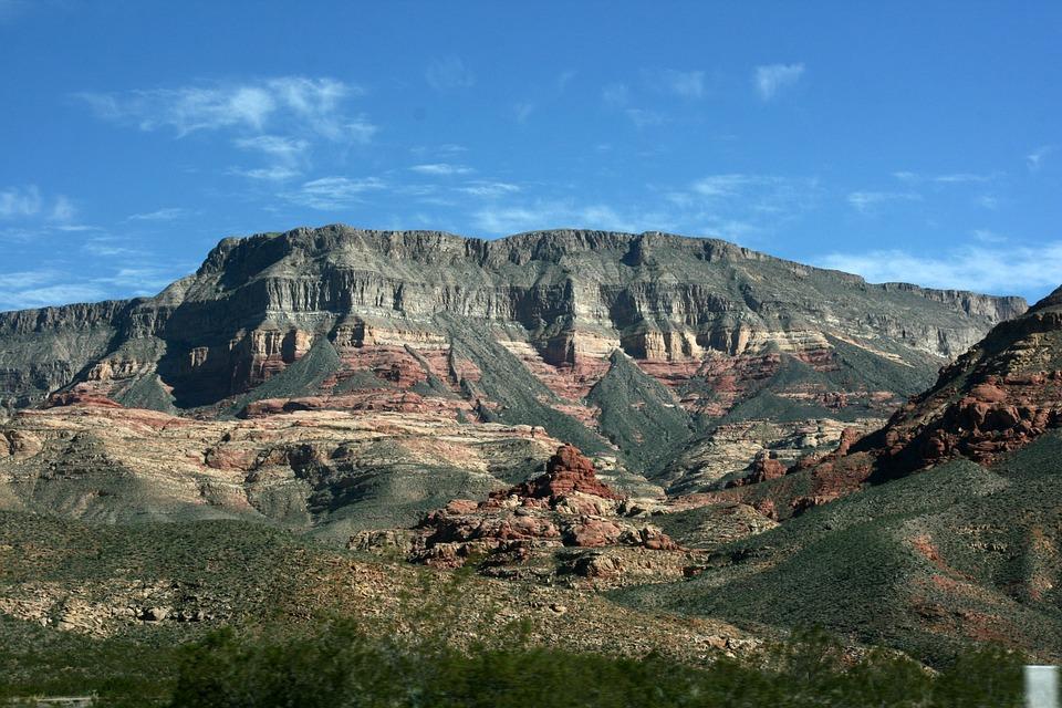 Foto Gratis Gunung Pemandangan Alam Amerika Gambar Warna Warni