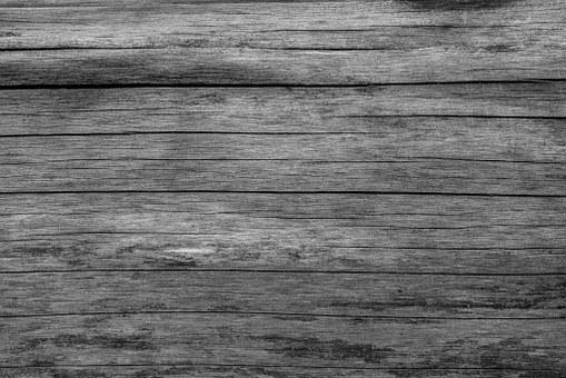Board Wood Grey Grain Texture Structu