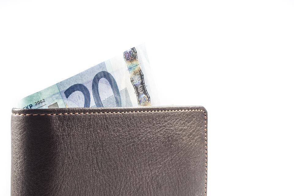 Afbeeldingsresultaat voor lege portemonnee