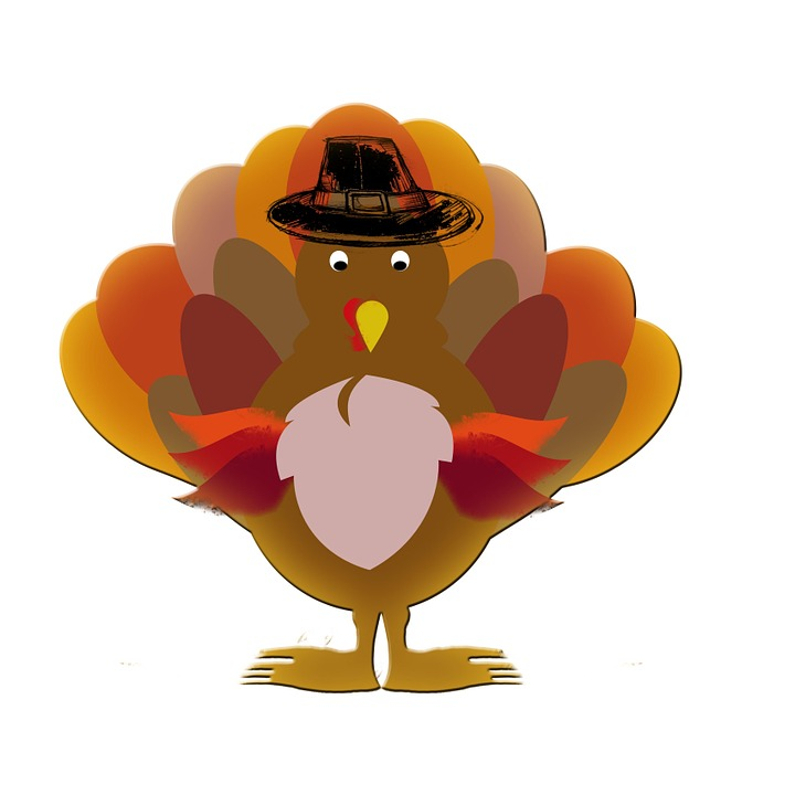 turkey thanksgiving cartoon · free image on pixabay