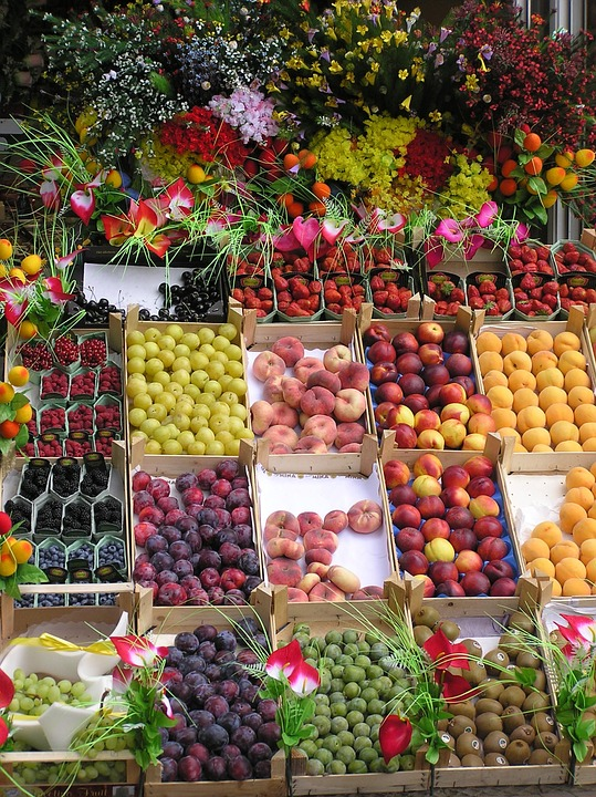 Fruits stand de l gumes photo gratuite sur pixabay for Stand de fruits ikea