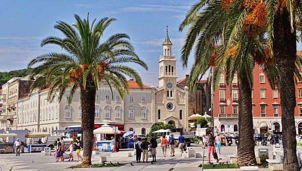 Chorwacja, Split, Historyczne Centrum