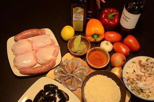 Paella, cocina tradicional española