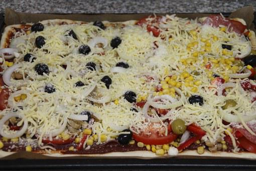 Pizza, Cook, Topping, Bake, Recipe
