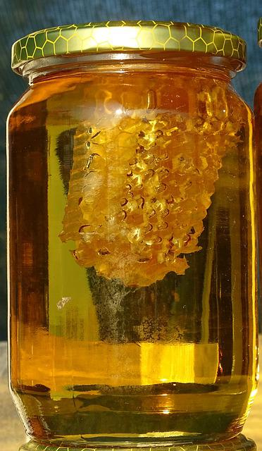 Honey Jar Honeycomb · Free photo on Pixabay