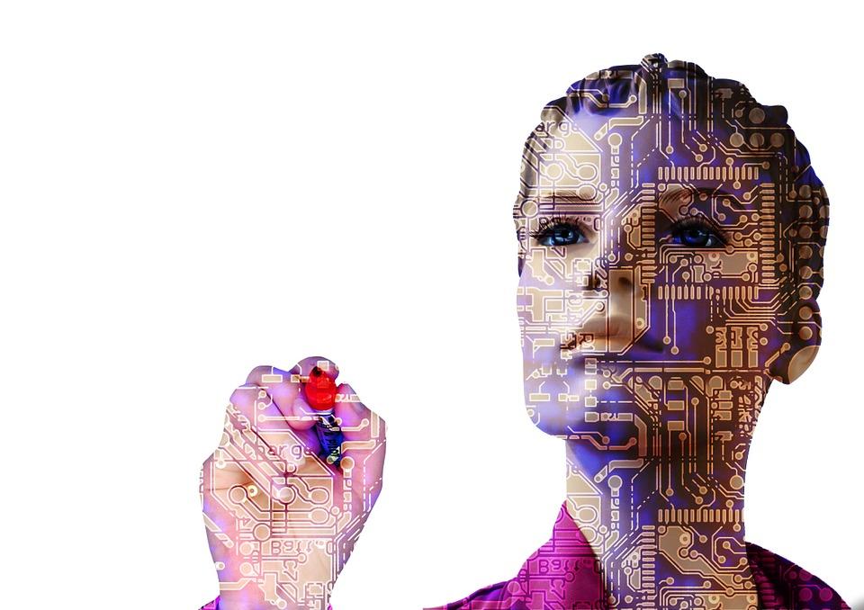 机器人, 人工智能, 女子, 向前, 计算机科学, 电气工程, 技术, 开发人员, 认为, 计算机, 男子