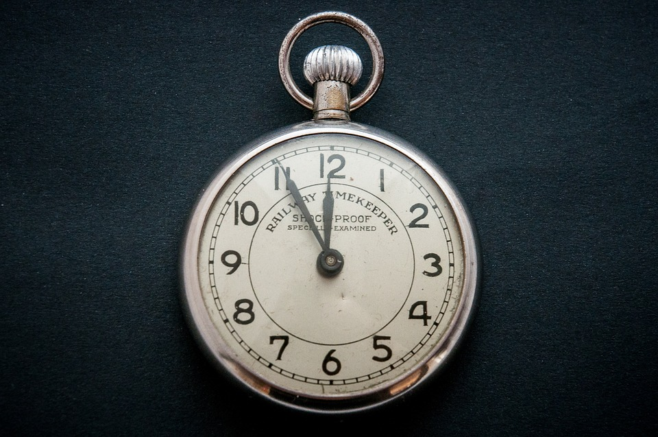 Free photo: Pocket Watch, Time, Time Of, Old