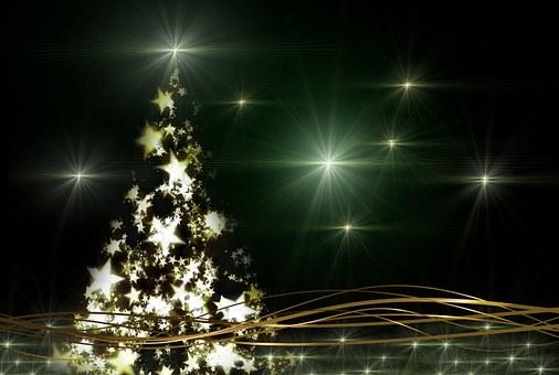 Weihnachtsbaum, Atmosphäre, Advent