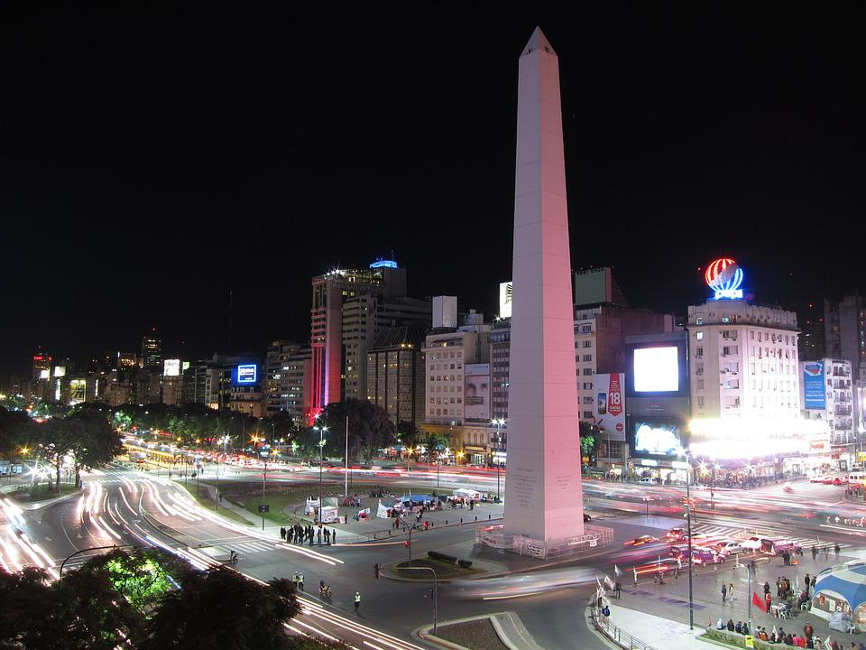 Buenos Aires, Argentina, Obelisk, City, Capital, Street
