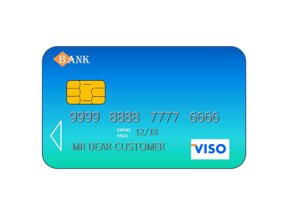 free illustration credit card visa credit bank free image on pixabay 509324. Black Bedroom Furniture Sets. Home Design Ideas