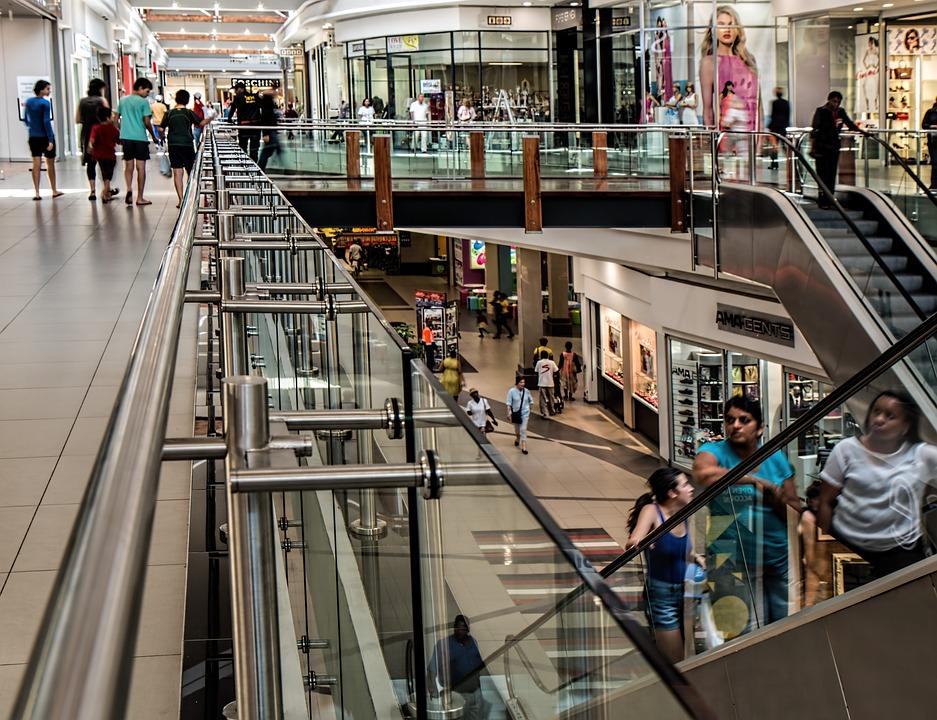 ショッピング モール, ストア, 小売, センター, モール, ショッピング, 貿易, 商品, ショップ