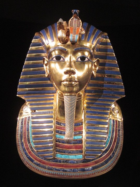 Tutankhamun, Pharaoh, Gold Mask, King, Egyptian