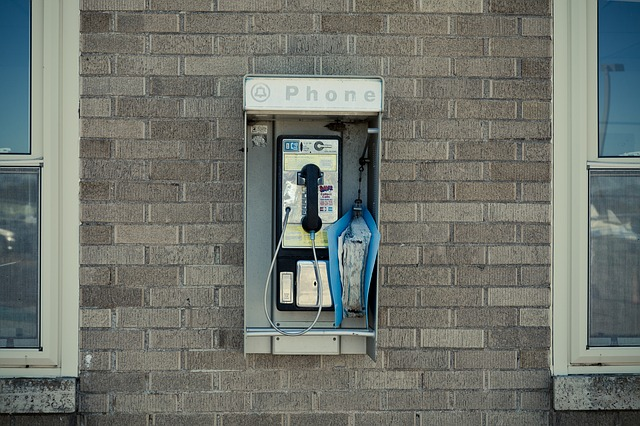 Free Photo Pay Phone Telephone Booth Booth Free Image