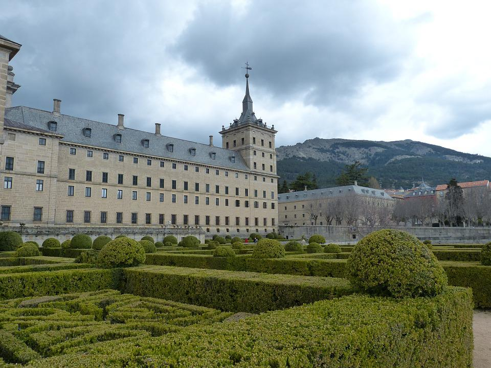 Madrid, Spain, Escorial, Palace, Church, Historically