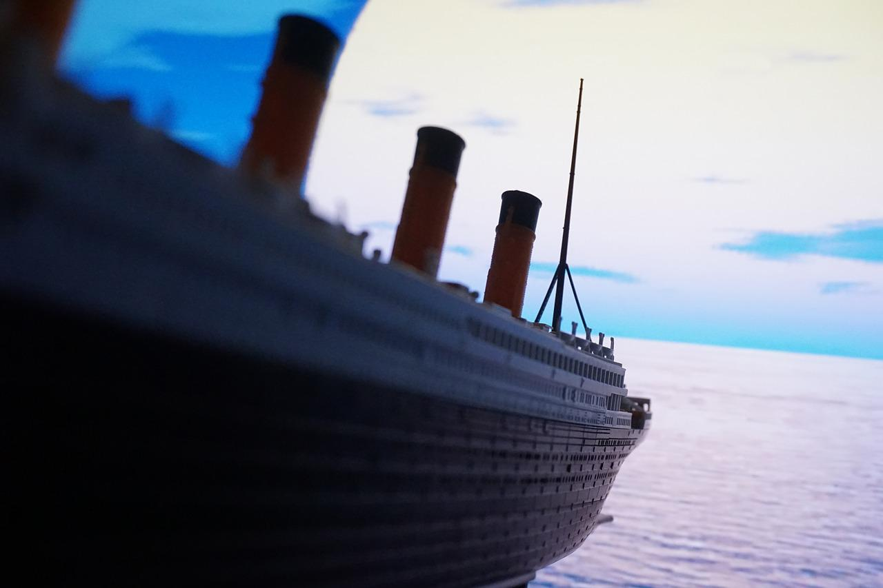 Titanic the movie costed more to make than the Titanic itself.