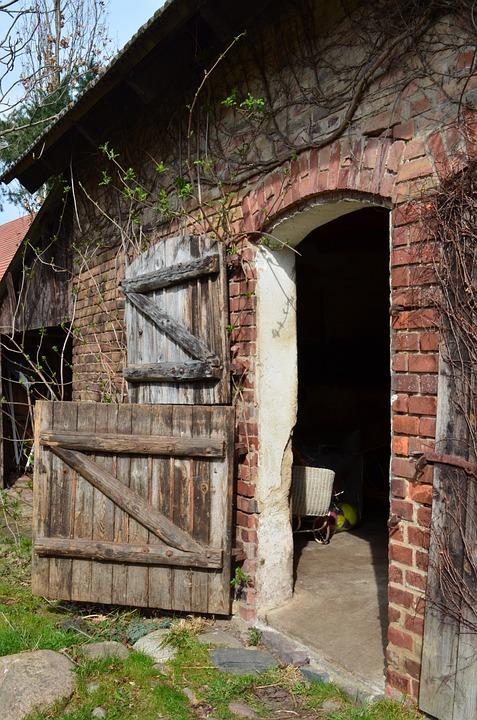 Free Photo Stall Barn Door Village Free Image On
