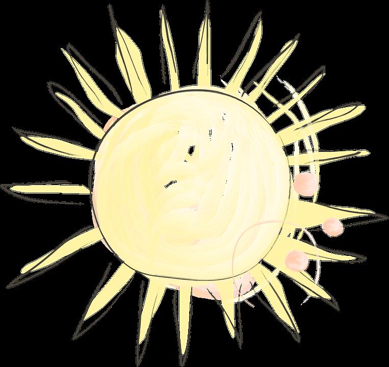 Słońce, Sunshine, Dzień, Lato, Słoneczny, Natura