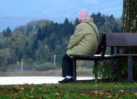 Human, Woman, Old, Person, Individually